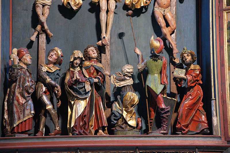 herrgottskirche in creglingen marienaltar